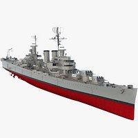 "Argentine Navy Cruiser A.R.A ""General Belgrano"
