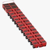 12 Axle Lines Modular Transporter Goldhofer