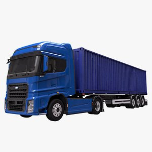 3D trailer iso container