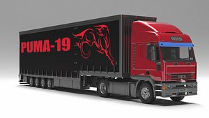 iveco eurotech truck 3D