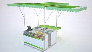 3D food design model