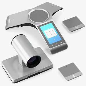3D Yealink VC800 Video Conferencing System Set model