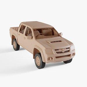 2008 Holden Colorado LX Single Cab 3D model