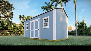 3D house shed
