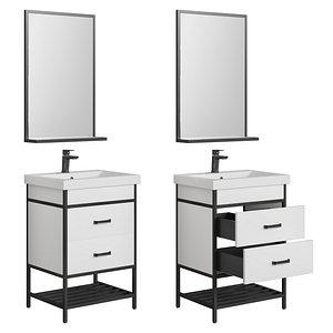 bathroom sanflor nord 60-80 3D model