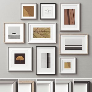 3D model Picture Frames Set-235