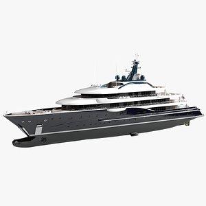 Here Comes The Sun Refit Superyacht 2021 Dynamic Simulation 3D model