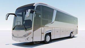 3D model vehicle bus transport
