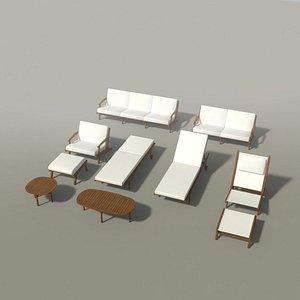 gloster bay teak furniture model