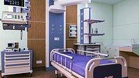 ICU Intensive Care Room Interior