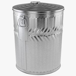3D dustbin contains