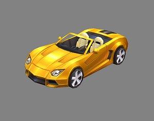 car sports 3D