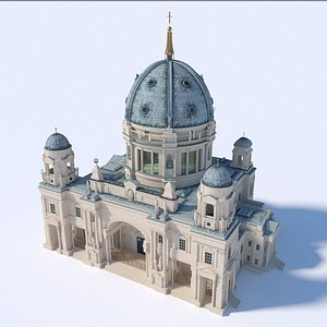 3D Berlin Cathedral model