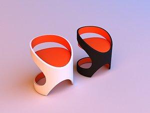 3D Martz edition chair 3D model