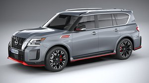 3D Nissan Patrol Nismo 2021