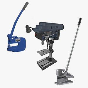 presses drill 3D model