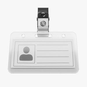 Name Badge 1 3D