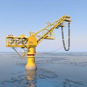 3D Oil terminal