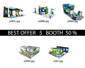 3D Booth Exhibition Stand c13