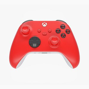 xbox wireless controller 3D model