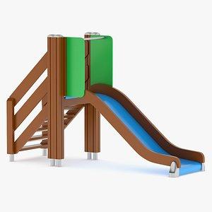 3D Lappset Slide 02 model