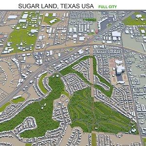 Sugar Land Texas USA 3D model