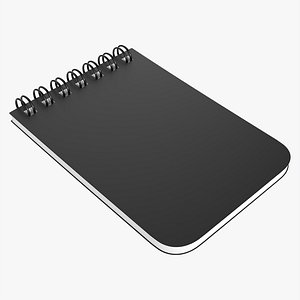 3D Notebook with spiral 04