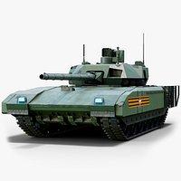 Rigged T14 Armata GameReady