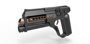 SFX Foosh Gun 3D model