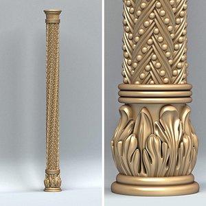 3D model Column 007