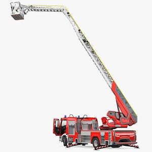 3D Fire Truck Ready Position