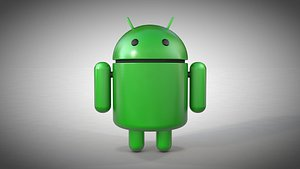 android droid bot 3D model