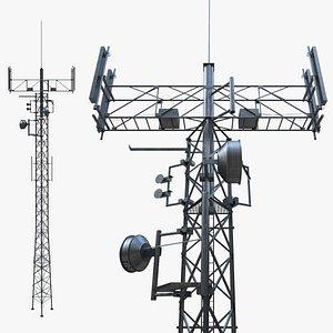 3D Telecommunication Tower 05