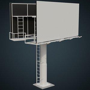 Billboard 2A 3D model