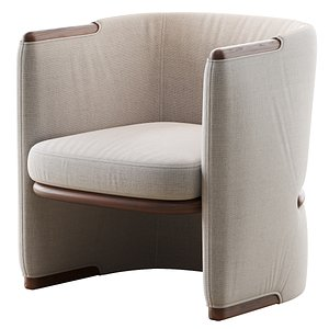 3D opus armchair giorgetti model