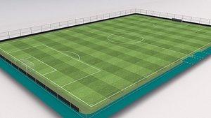 Soccer field 3D
