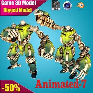 3D mech