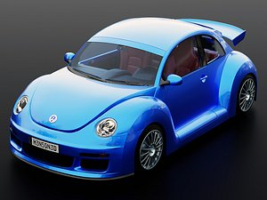 3D beetle rsi cars model
