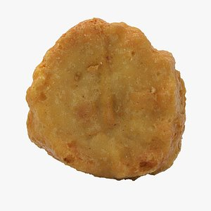 Realistic Chicken Nugget 2 3D model