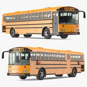 Transit School Bus 3D model