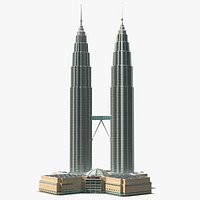 Petronas Towers Twin Skyscrapers