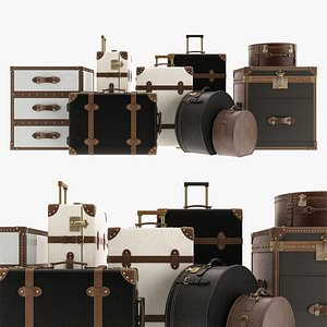 3D Suitcases Collection