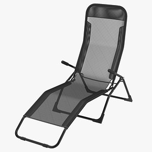 3D model Chaise Lounge