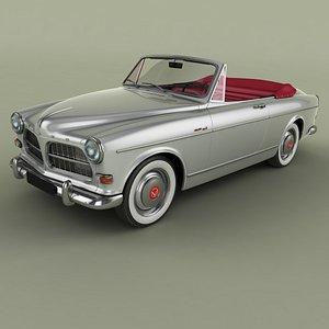 1963 amazon convertible 3D model