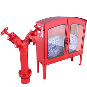 3D box hose emergency model