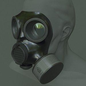 gas mask mira 3D