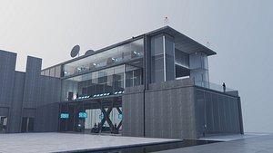 3D model Research Center