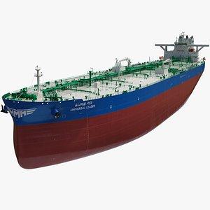 3D HMM Universal Leader Oil Tanker model