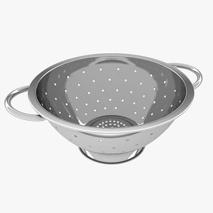 colander kitchenware 3D model