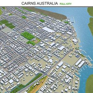 3D Cairns Australia model